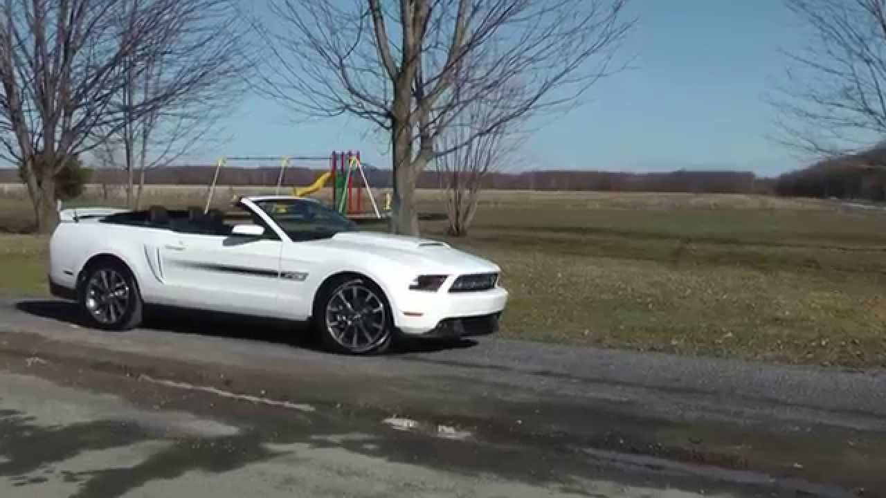 2011 Mustang GT/CS - California Special - Convertible (1080P) - YouTube