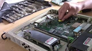 Replacing the Battery on a Comtech EFData CDM-570L Satellite Modem