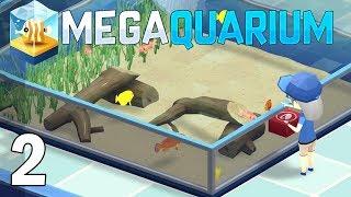 Rescuing North Woods Aquarium - Megaquarium Gameplay - Part 2