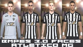 PES 2018 - BMPES 3.0 - TODAS FACES ATLÉTICO MG - PC