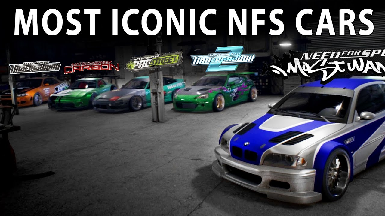 Most Iconic NFS Cars ( NFS 2015 / 21:9 / Cinematic / PC