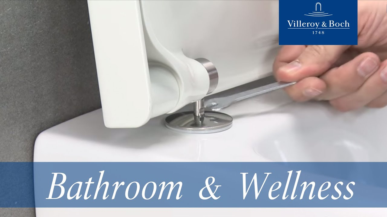 Compact Hangtoilet How To Install Suprafix For Compact Wc Villeroy Boch