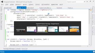 AngularJS end-to-end web app tutorial Part III