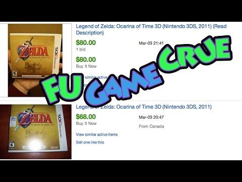 Ocarina of Time 3D Is Rare?  - FUgameCrue Thoughts