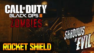 Call of Duty: Black Ops 3 - How to Build the Zombie Shield in Shadows of Evil (COD BO3)