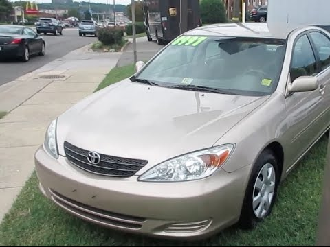 Delightful 2004 Toyota Camry LE Walkaround, Start Up, Tour An