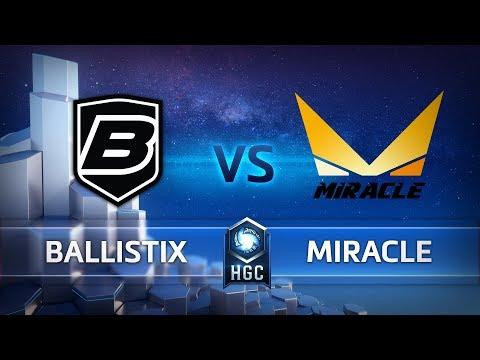 HGC KR - Phase 1 Week 10 - Miracle vs. Ballistix - Game 2