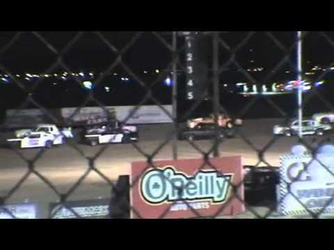 Texas Thunder Speedway June 29,2012 The big Crash --Stormin Norman