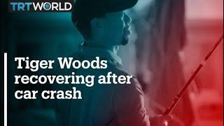 Tiger Woods Recovering After Car Crash
