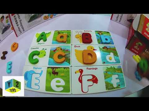 Uppercase & Lowercase Alphabet Learning Card