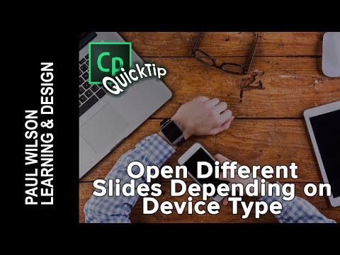 Adobe Captivate - Open Different Slides Depending On Device Type