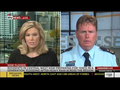 FORBES FLOODS: Interview with Sky News 24 September 2016