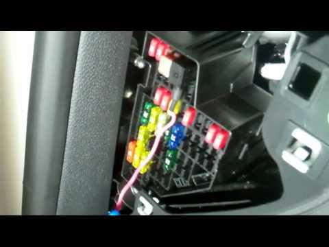 hqdefault 2011 vw gti episode 32 vlog hard wiring a radar detector youtube  at gsmx.co