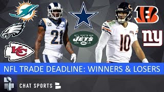 2019 NFL Trade Deadline: Winners & Losers Ft. Chiefs, Bengals, Giants, Dolphins & Mitchell Trubisky