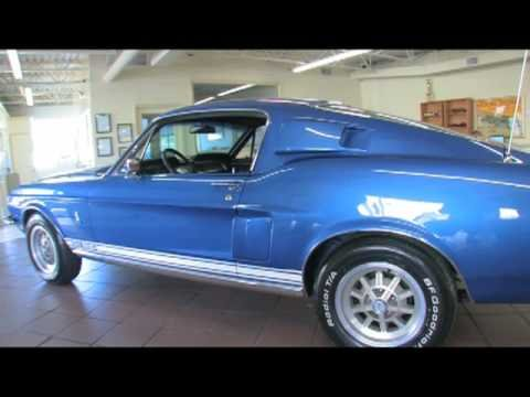 1968 Mustang GT500 for sale with test drive, driving sounds, and walk through video