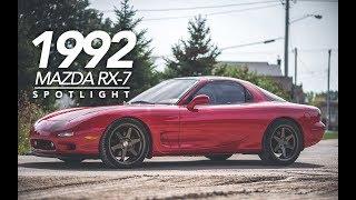 "1992 Mazda RX-7 I 18"" ESR SR07"