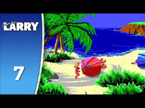 IT'S BIKINI TIME - Leisure Suit Larry (2) Goes Looking for Love #7 (Let's Play/DOS) 18+  