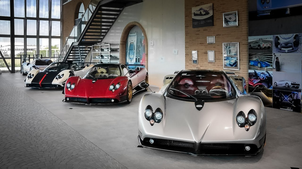 Visiting the nd New Pagani Museum - YouTube