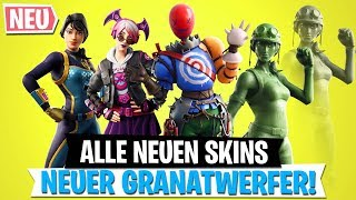 ALL NEW SKINS | New Grenade Thrower Leak | Fortnite Battle Royale