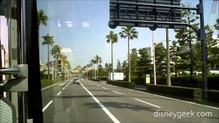 Tokyo Disney: Trip on the Disney Resort Cruiser from Hilton Tokyo Bay to Bayside Station