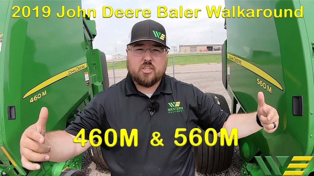 2019 John Deere 560M and 460M Round Baler Walkaround Product Overview