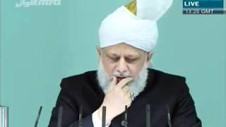 Проповедь Хазрата Мирзы Масрура Ахмада (02-12-11)