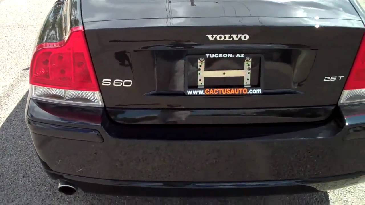 2006 Volvo S60 2.5T SN- 88045 Low Mileage Cactus Auto - YouTube