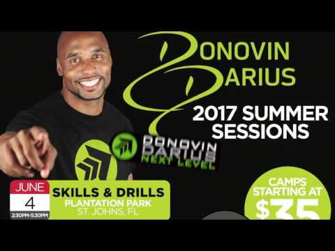 [YOUTH FOOTBALL CAMPS]  Donovin Darius Next Level Training Youth Football Camps