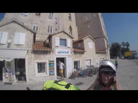Croatia 2016 Day7 of 12 - Torgir, Split and the outstanding Zlatni Rat, BMW 1600 GTL Excl, GoPro4