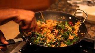 Vegan Thai Quinoa Noodle Demo For Dr. Maclin