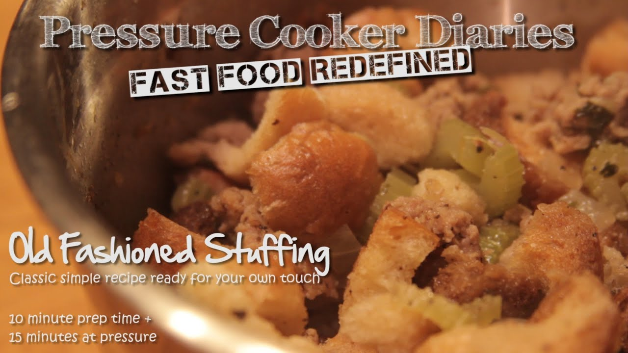 how to make easy homemade stuffing