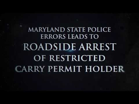 HPRB Hearing - MSP Errors Leads to ARREST of Restricted Carry Permit Holder