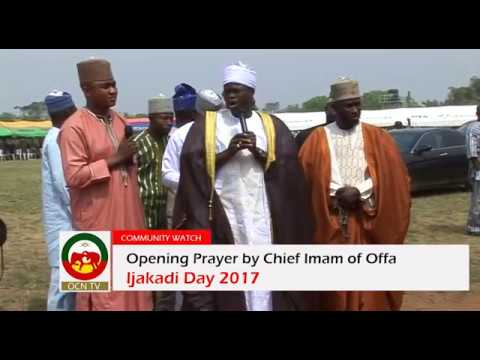 IJAKADI DAY 2017: Opening Prayer and short comment by Chief Imam of Offa thumbnail