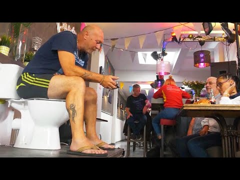 Jo Jo - Trying To Set Record Man Sits On Toilet For 116 Hours!