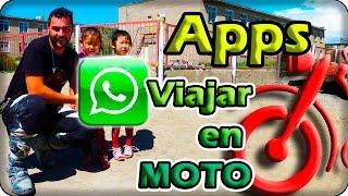 Aplicaciones móvil para viajar en moto www.lacircunvalacion.com