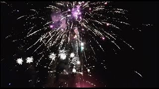 2019 NYE FIREWORKS !!! Backyard DISPLAY