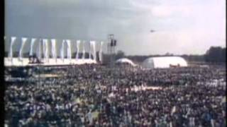 One million Irish people gather for Pope John Paul II in Phoenix Park, Dublin - 1979
