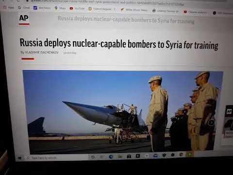 BREAKING NEWS: RUSSIA DEPLOYS 3 NUCLEAR CAPABLE BOMBERS TO SYRIA IN SHOW OF FORCE