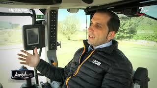 Agro en acción (48).- JCB Fastrac 4220 y sistema AFS Harvest Command de cosechadoras Case IH thumbnail