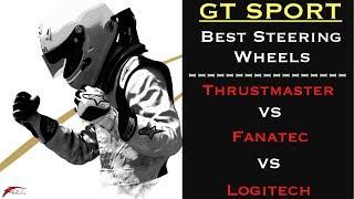 GT Sport - Best Steering Wheels Comparison (T-GT VS Fanatec VS T300 VS G29)