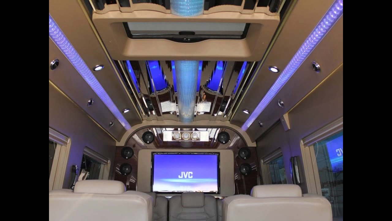 Mercedes Sprinter Conversion Van Luxury