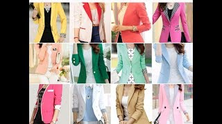 50+ TOP BEST BLAZER WOMEN FASHION TRED IN 2019.LATEST BEST FORMAL AND CASUAL BLAZERS FOR WOMEN