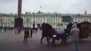 Карета на Дворцовой площади 30 декабря 2017 года