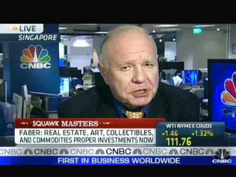 Marc Faber - Gold is Cheaper Today than in 1999 (April 8, 2011)