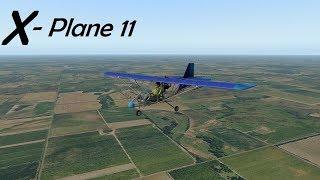 New X-Plane 11.20 Default Aircraft! Aero-Works Aerolite 103 Ultralight!