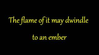 Ella Fitzgerald - Midnight Sun (lyrics on screen)