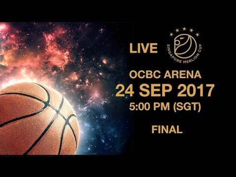 Basketball 🏀 ​Championship game Shanghai Sharks 🇨🇳 vs 🇦🇺 Adelaide 36ers | Singapore Merlion Cup 2017