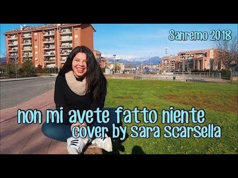 Non mi avete fatto niente - Ermal Meta, Fabrizio Moro | cover by Sara Scarsella (Sanremo 2018)
