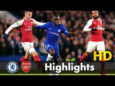Chelsea vs Arsenal 0-0 Highlights and Goals Match Stats 10/01/2018