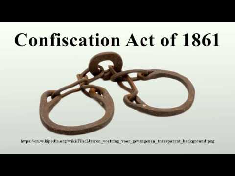 Confiscation Act of 1861